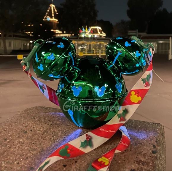 Disney Park Mickey Jingle Bell Light Up Sipper
